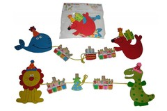 BIRTHDAY WALL HANGING PEG 2S