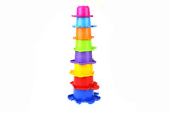 BATH TOY STACKING CUPS