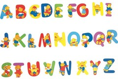 CREATE YOUR NAME BEAR LETTERS