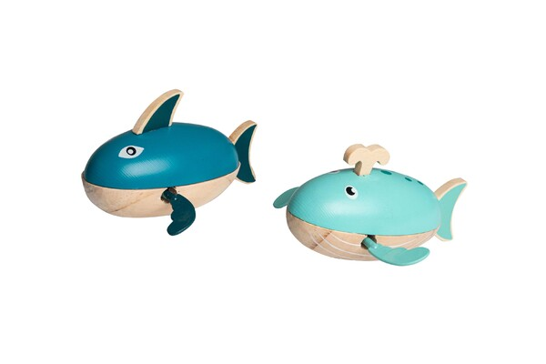 WATER SHARK & WHALE WIND UP