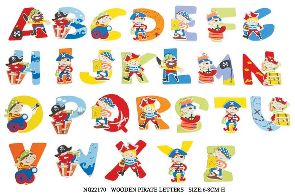 CREATE YOUR NAME PIRATE LETTERS