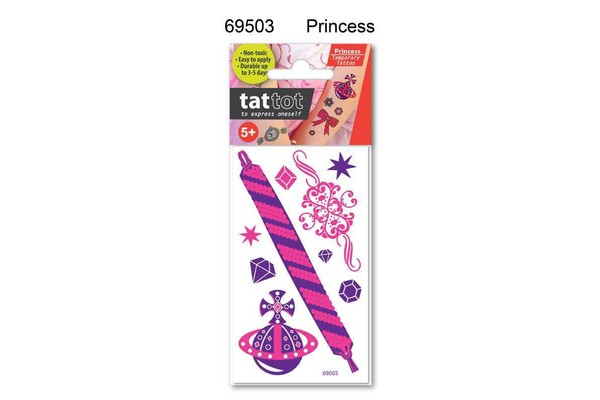 TATTOO MINI PRINCESS COLOR